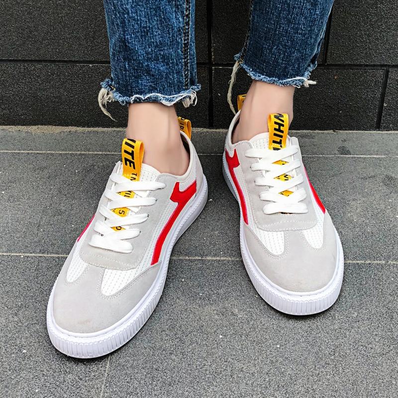ZENVBNV Moda Zapatos de Malla Transpirable Hombres Retro Con Cordones - Zapatos de hombre - foto 4
