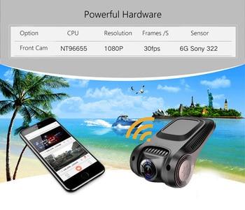 DVR Sony IMX322 Sensor Dash cam  3
