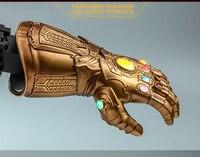 Collectible ACS007 1/4 Hot Toys Iron Man Avengers:Endgame Infinity Gauntlet LED Light Dolls 7 Figure Wearable Cosplay Model
