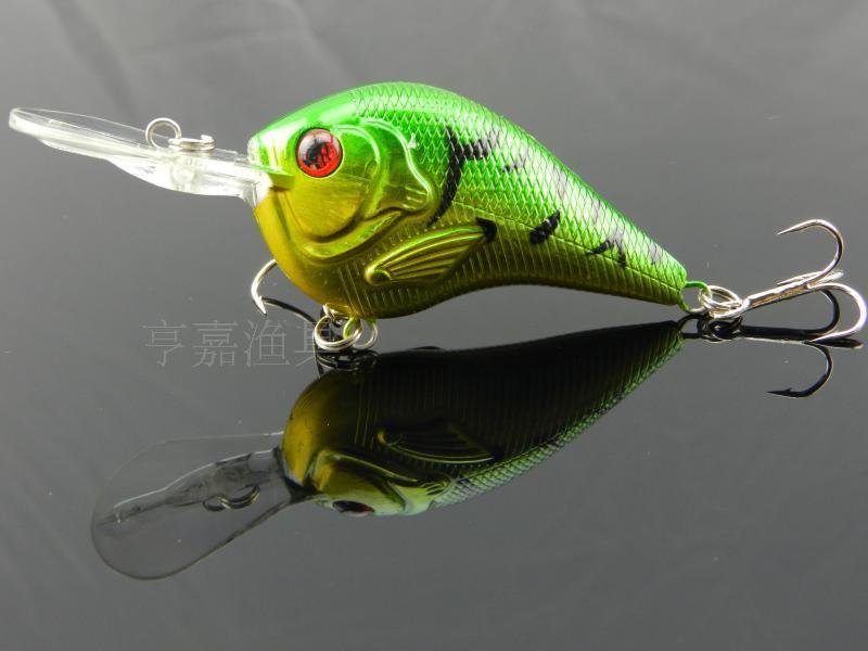HENGJIA 1PCS Deep Diving Bait Hard Plastic Fly Fishing Tackle Crankbait Bass Bait 9.5cm 11.2g Fishing Lures