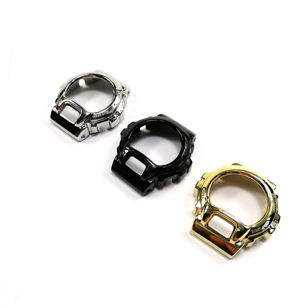 Image 4 - 316 Stainless Steel Watchband and Bezel For DW6900 DW6930 Watch  Band Strap Bracelet Cover For G Style Accessory Original  DesignWatchbands