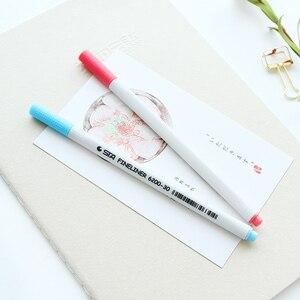 Image 3 - 26 kleuren Fineliner Pennen 0.4mm Ultra Fijne Tip Gekleurde Pen Aquarel Gebaseerd Micron Inkt Marker Pen Set Perfect voor schets Tekening