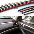 3M Car Center Console Internal Trim Sticker For Volkswagen VW Polo Passat B5 B6 CC Golf 4 5 6 7 Touran T5 Tiguan Bora Scirocco