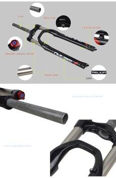 гидравлический тормоз   26-дюймовый 27,5-дюймовый 650B горный велосипед передняя вилка с амортизацией гидравлический амортизаторы передний замок амортизационная вилк...