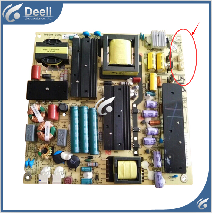 90% new original for Power Supply Board LE50D8810 LE50D29 TV5001-ZC02-01 Board Working good