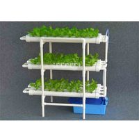 New Hydroponics System Planting Horticultural Layered Three dimensional Planting Rack 12 Pipes Soilless Cultivation Equipment