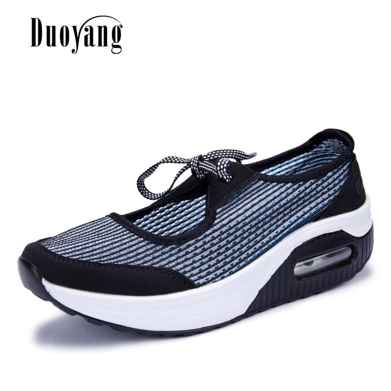 Fashion Breathable platform Sneaker Swinging women shoes 2018 New Sale Women Summer Casual Shoes tenis feminino