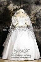 Pretty Soldier Sailor Moon Tsukino Usagi Wedding Dress Party Fashion Cosplay Anime Costume Uniform Custom made Any Size