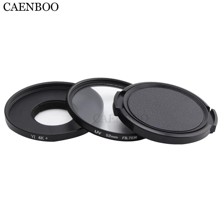 Premium Material XIAOMIN 52mm Round Circle UV Lens Filter for GoPro Hero 4//3