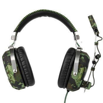 FELYBY SA926T Wired Headphone headphones Gaming Headset esports headset army green camouflage with microphone