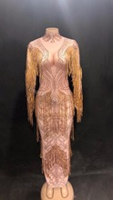 2019 Women Sexy Net Yarn Long Dress Silver Sparkle Mirrors Nightclub Party Stage Wear Dancer Singer Bling Costumes DJ DS Dress silver sequins sparkling mirrors dress sexy nightclub bar dj ds costumes female singer leading party performance one piece dress