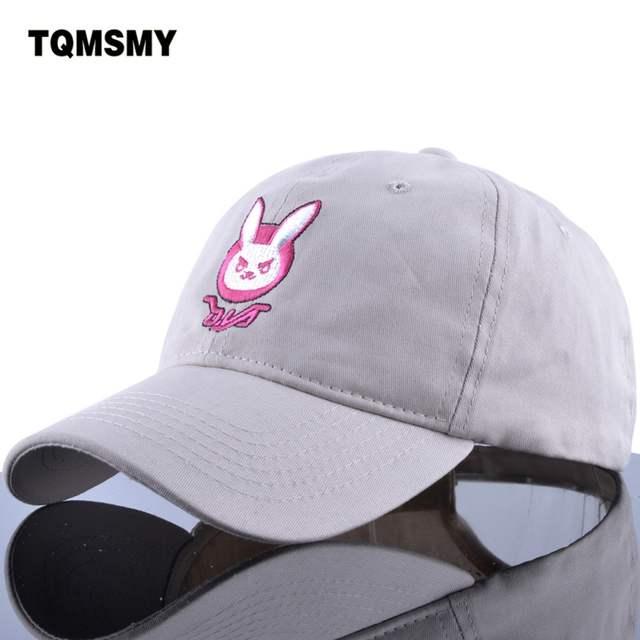 D. VA DVA algodão orelha de coelho bordado snapback boné De Beisebol das  mulheres dos 1efbe72f33a