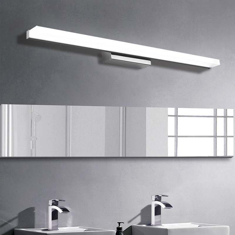 Longer LED Mirror Light 0.4M~1.5M bathroom light AC90-260V modern vanity light acrylic wall lamp bathroom lighting waterproof