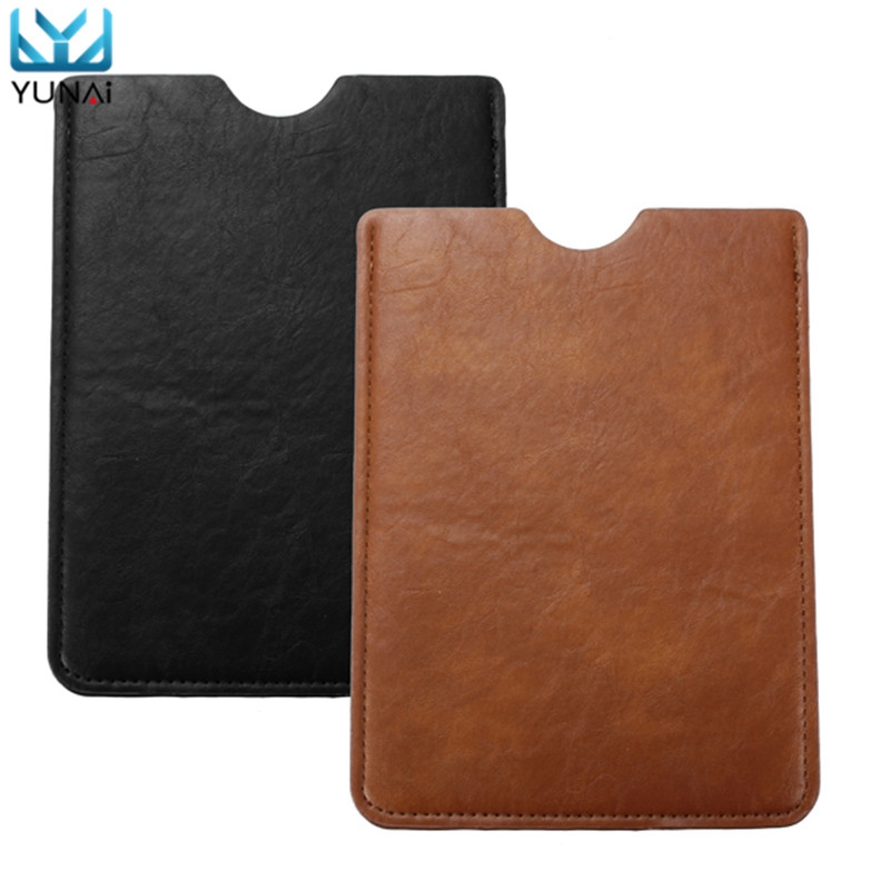 YUNAI Universal Tablet 7 inches PC PDA Sleeve Pouch PU Leather Bag Case Cover For Ipad mini For Samsung Tablet Cover Case print batman laptop sleeve 7 9 tablet case 7 soft shockproof tablet cover notebook bag for ipad mini 4 case tb 23156
