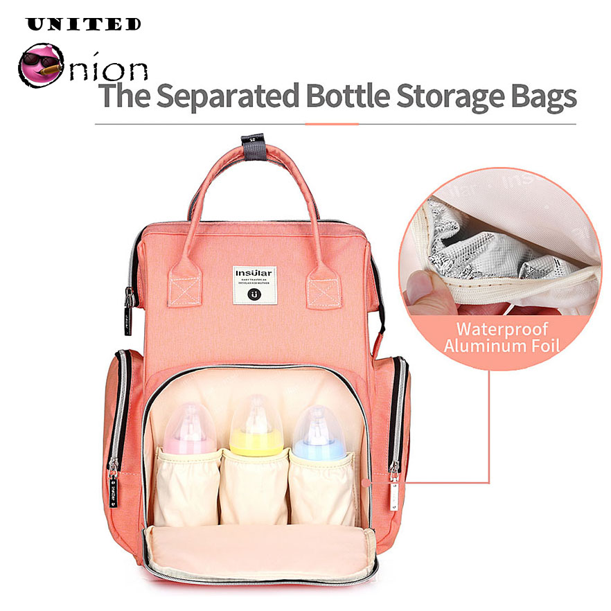 Large Capacity Multifunctional Baby Diaper Mother Mummy Bag Travel Backpack Tote Stroller Hanging Handbag plush backpack business bag