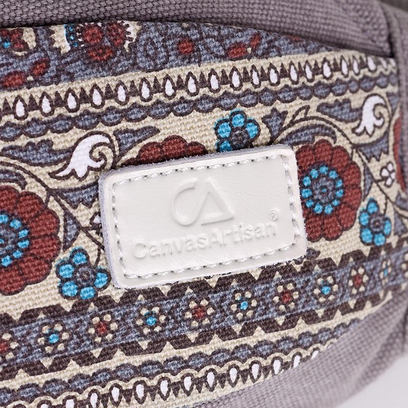 New Women Waist Pack Tygväskor Multi-functional Waist Bag Retro - Bälten väskor - Foto 6