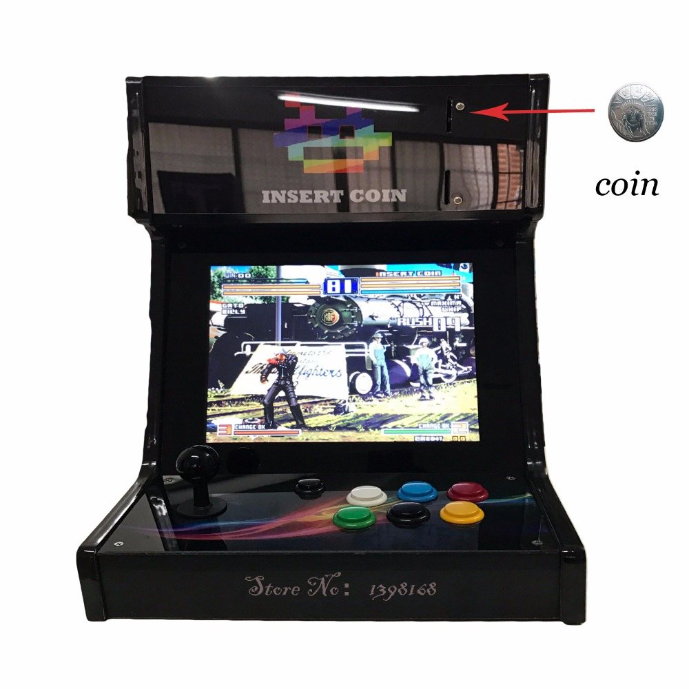 12 inch Pandora box 5 960 in 1 Support coins arcade control kit joystick usb buttons zero delay  arcade console controller sanwa button and joystick use in video game console with multi games 520 in 1