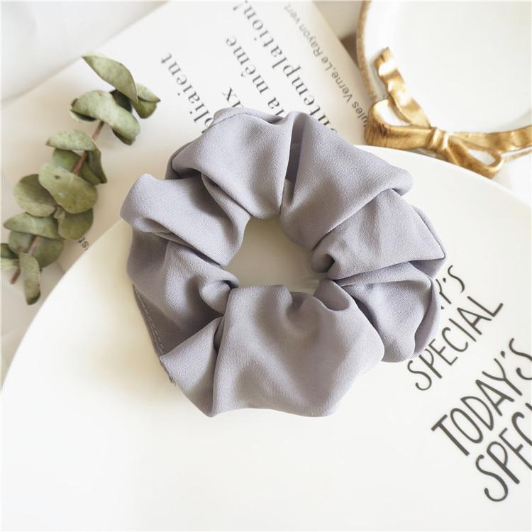 Elastic Headband Korea Simple Fashion Hairbands Hair Accessories For Women Ponytail