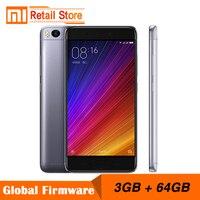 Original Xiaomi Mi 5s 3GB RAM 64GB ROM 4G LTE Mobile Phones Snapdragon 821 5.15'' 12.0MP Camera Cellphone Fingerprint ID 3200mAh