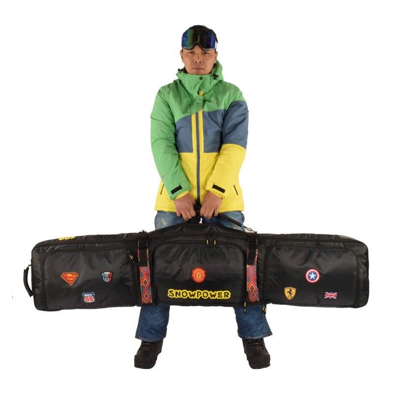 2019 nouveau sac de Ski 146 cm 156 cm 166 cm 180 cm sac de Snowboard homme femmes Sports de plein air sac à dos sac à bandoulière unique sac de Ski - 3