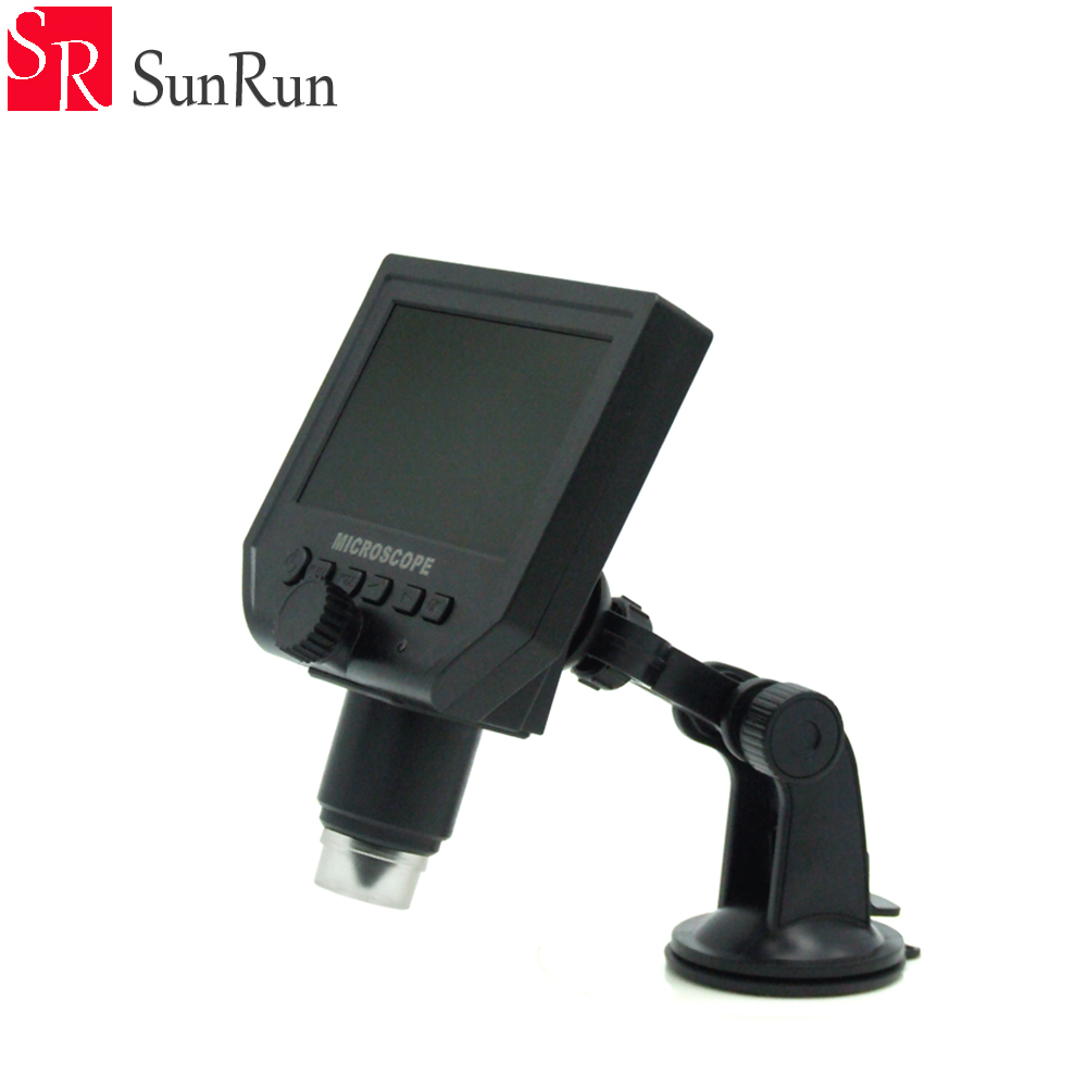 600 X 4.3 LCD USB Digital Microscope Portable LED 3.6MP VGA Electronic HD Video Microscopes Endoscope Magnifer Camera