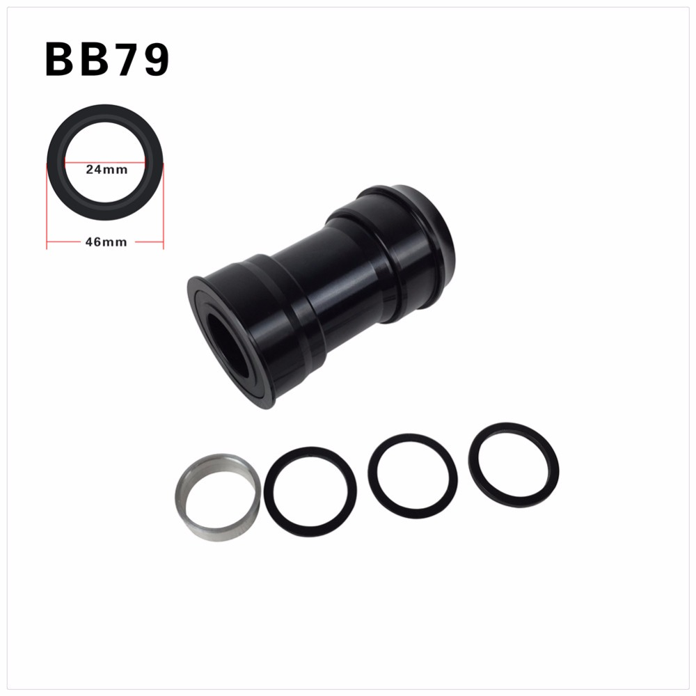 BB79 Bottom Bracket Shell 79/83mm Press in BB <font><b>Bicycle</b></font> <font><b>Parts</b></font> BB Right Bottom Brackets For MTB/Road Carbon Frames image