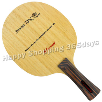61second Strange King Table Tennis PingPong Blade Shakehand with a free Cover original dhs hurricane h tp table tennis pingpong blade shakehand fl
