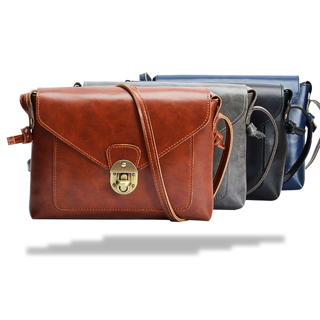 Новая мода кожа pu женщины сумка crossbody сумки для женщин bolsa feminina девушки маленькая сумка старинные женщин сумка