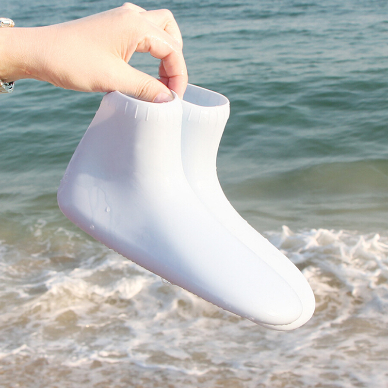 Non-slip Comfortable Beach Shoes Silicone Swimming fins For Women Men Short Beach Socks Swimming Fins Flippers Wetsuit Shoes
