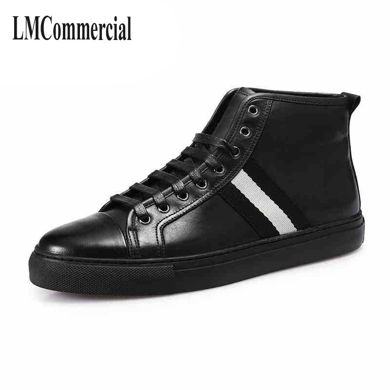 The fall of New England sports casual shoes men boots leather shoes shoes trend of Korean high tide ideal lux люстра ideal lux foglia bi2 small