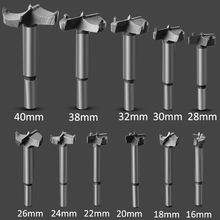 цена на 16mm-100mm Woodworking Core Hinge Drill Bit Forstner Auger Drill Bit Set Tungsten Carbide Forstner Drill Bit  for Wood Set