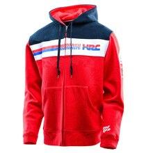 Mens MotoรีไซเคิลHoodie Racing Moto Moto Rbikeขี่Windproof Hoodyเสื้อผ้าชายเสื้อCross Zip Jerseyเสื้อ