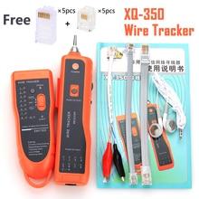 KELUSHI XQ 350 RJ11 RJ45 Cat5 Cat6 przewód telefoniczny Tracer Toner Ethernet UTP Tester kabla sieciowego LAN wykrywacz linii Finder