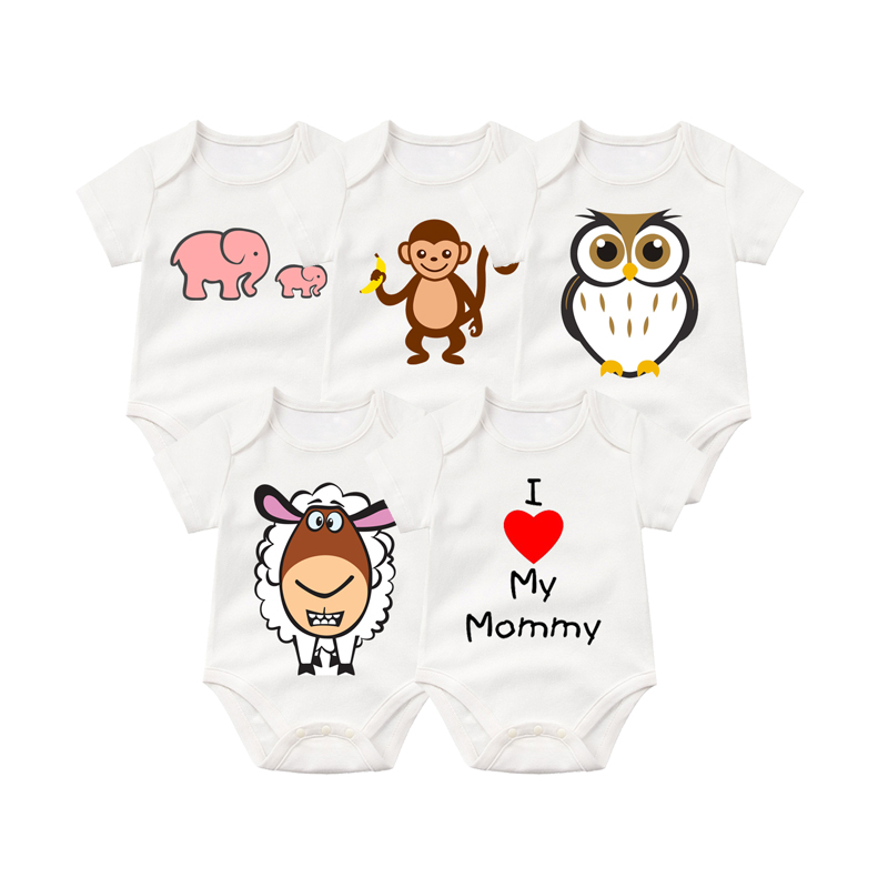 PCS, Top, Short, Cottom, Newborn, Boys