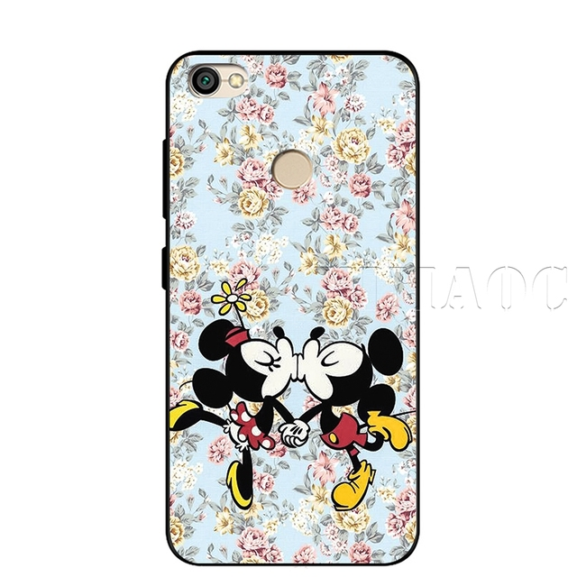 YIMAOC Minnie Mouse Soft Silicone Case for Xiaomi Redmi Note 4 4X 4A 5 5A 6 MI A1 mi6 Prime Plus