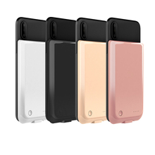 5000mAh Battery Charger Case For iPhone X XR XS Max Power Bank Case External Pack Backup Battery Charger Phone Cover Poverbank