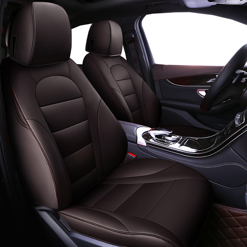 Auto Universal Cowhide leather seat cover For Audi A6L Q3 Q5 Q7 S4 A5 A1 A2 A3 A4 B6 b8 B7 A6 c6 A7 A8 accessories car styling