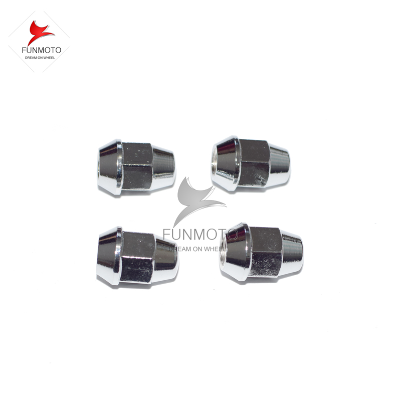 ФОТО wheel rim install nut of CFMOTO CF500 parts number is 9010-070002-A000 one pack include 16pieces nut