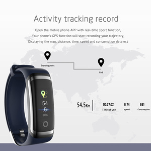 Image 5 - TLXSA Women Smart Band Fitness Tracker Blood Pressure Heart Rate Monitor Smart Wristband IP67 Waterproof For iOS Android Phone