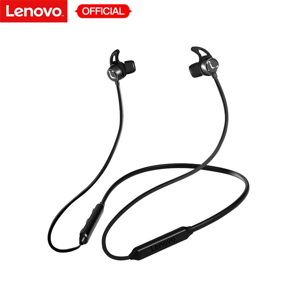 Lenovo Earphone Hands-Free Wireless 3dsurround Waterproof Sport-In-Ear Original