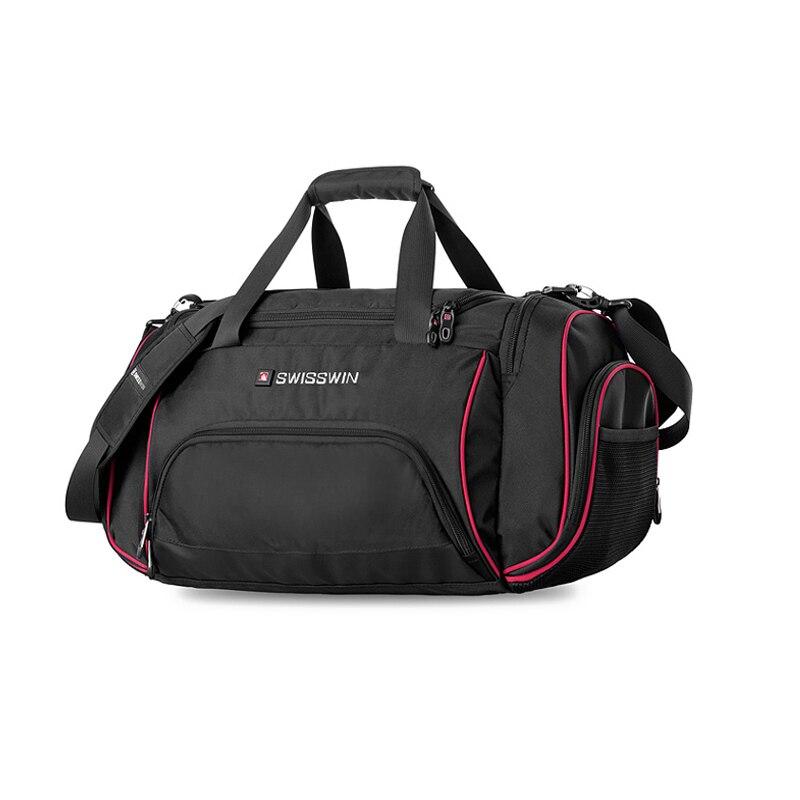 Suissewin sac de voyage homme grande capacité de vitesse léger voyage Messenger sac à bandoulière femmes grand sac polochon Portable bagage à main