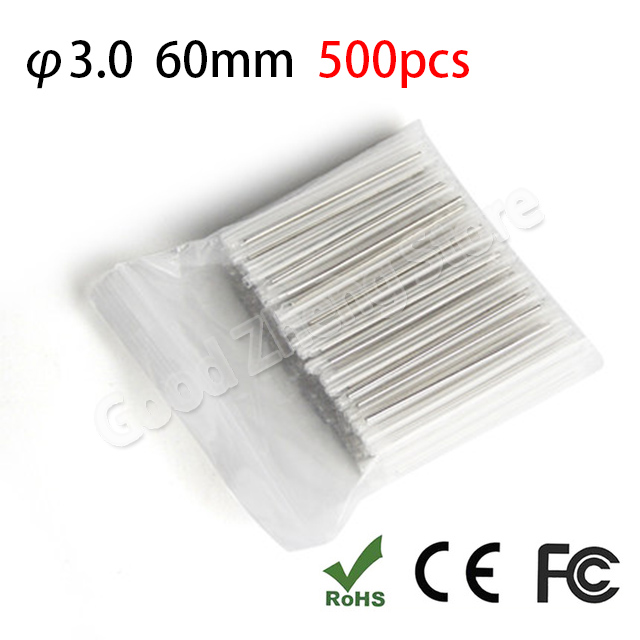 500pcs 60mm Fiber optic fusion splice protection sleeve ,heat shrink sleeve
