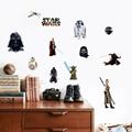 Наклейки на стену «Звездные войны: Пробуждение силы», Дарт Вейдер, йода