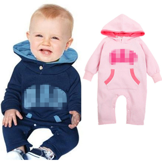 79fb1ac9c708a Baby Rompers Winter Jumpsuits Newborn Baby Girls Clothes Baby Clothes  Hoodies Boys Girls Rompers ropa bebe recien nacido-in Rompers from Mother &  Kids