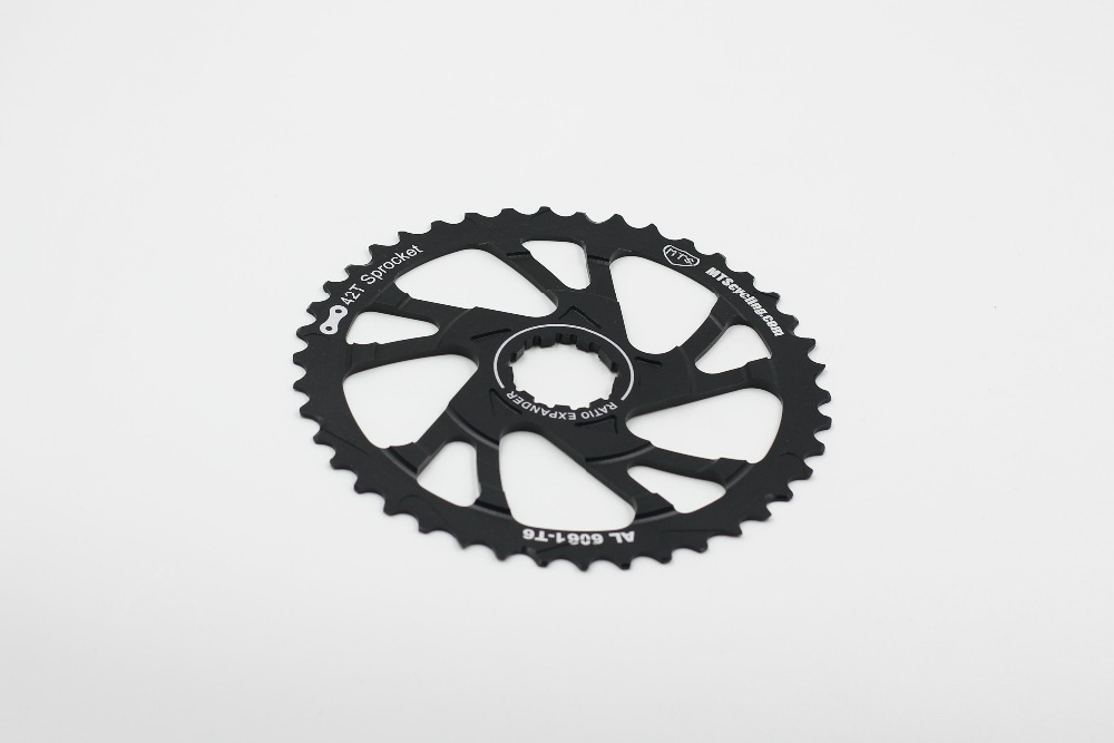 42t Al6061 Sprocket Gear Of Sram Pg1030 Pg1050 Pg1070 11-36 Tape Cycling