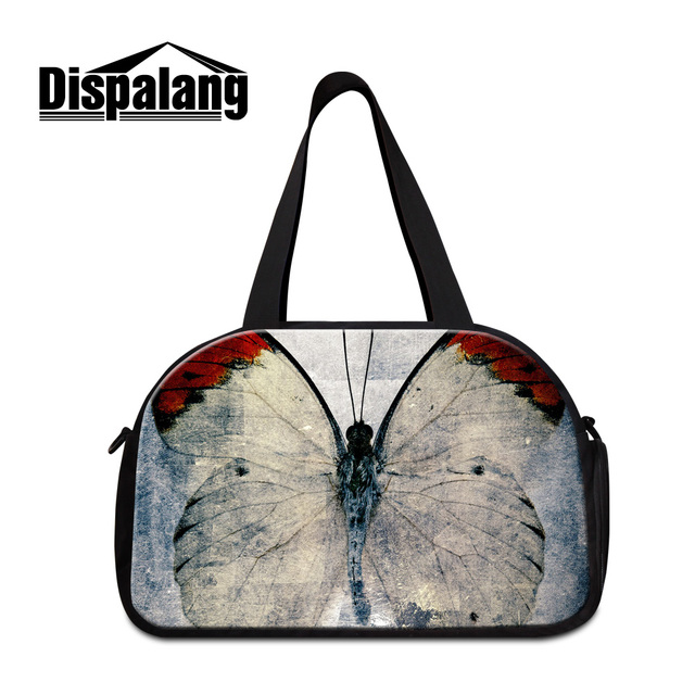 Bagages Fourre Réaliste Papillon Voyage Dispalang Femmes Grand 3d PiTlwOXkZu