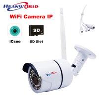 WiFi Camera Outdoor 1080P Micro SD Slot IP Camera HD Security Surveillance Camera Wireless Waterproof 2MP CCTV Cam IP P2P RJ45