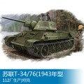 Trompetista 1 35 T-34/76 Tanque (Modelo 1943 Fábrica 84808 B2