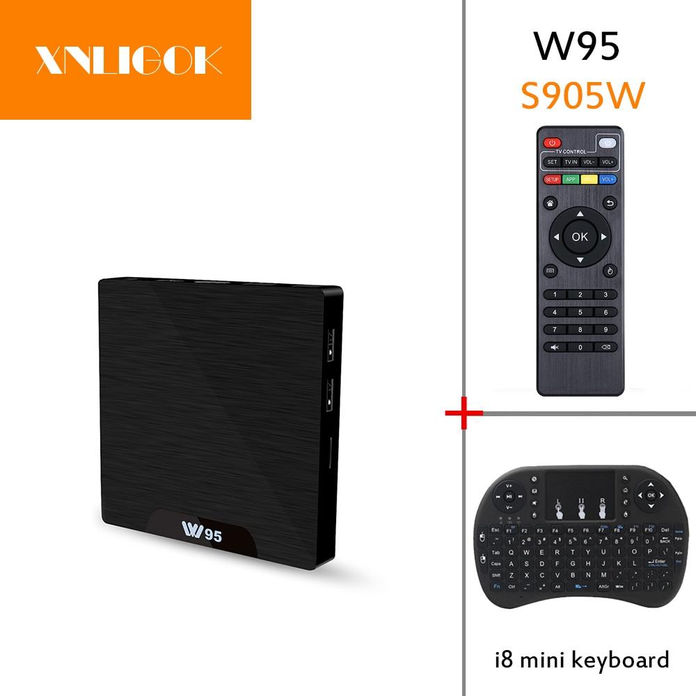 Home Audio & Video 2018 Hottest Amlogic S905w Smart Tv Box Android 7.1 Quad Core Cortex-a53 Hd 4k Kd 1g/8g 2g/16g W95 Tv Box