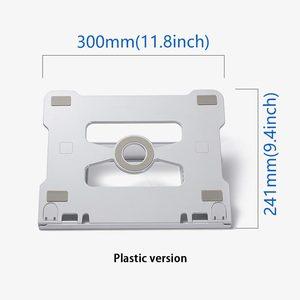 Image 2 - Support universel pour ordinateur portable support pour ordinateur portable support pliant en aluminium avec refroidissement réglable pour Samsung MacBook Air 13 Pro